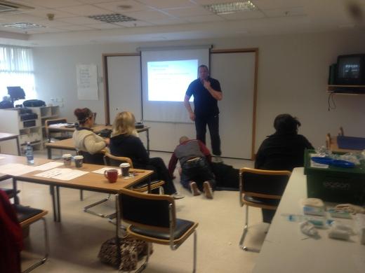 Foyleside training 520